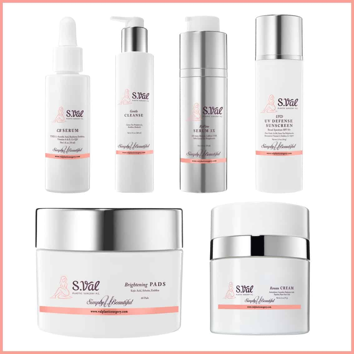 Simply You Beautiful Brightly Toned Anti-Aging Regimen